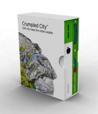 Bundle New York Adult & Junior Crumpled City Maps (Sheet map)