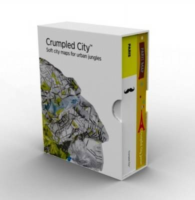 Bundle Paris Adult & Junior Crumpled City Maps (Sheet map)