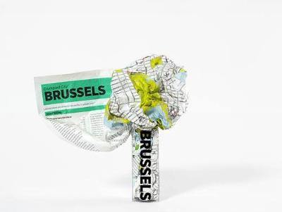 Brussels Crumpled City Map - Crumpled City Maps (Sheet map)