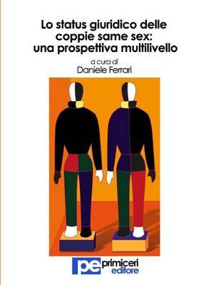 Lo Status Giuridico Delle Coppie Same Sex: Una Prospettiva Multilivello (Paperback)