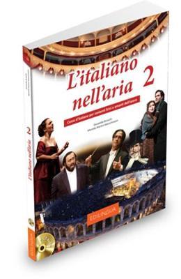 L'italiano nell'aria: Libro + CD audio 2