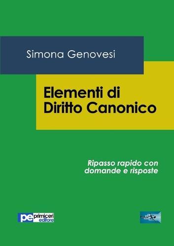 Elementi Di Diritto Canonico (Paperback)