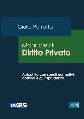 Manuale Di Diritto Privato (Paperback)