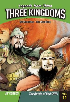 The Battle of the Red Cliffs - Legends from China: Three Kingdoms (Paperback)