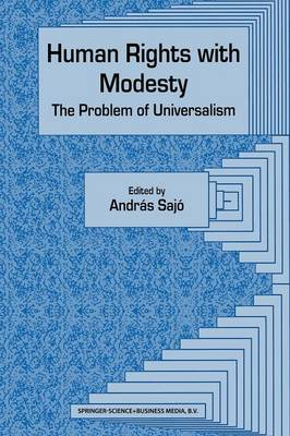 Human Rights with Modesty: The Problem of Universalism (Hardback)