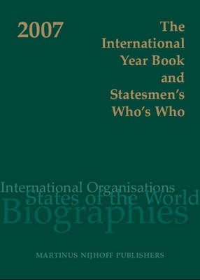 The International Year Book and Statesmen's Who's Who 2007 (Hardback)