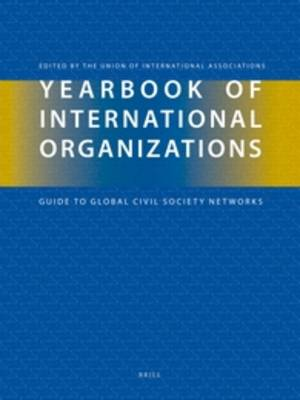 Yearbook of International Organizations 2012-2013 (6 vols.) - Yearbook of International Organizations (Book)