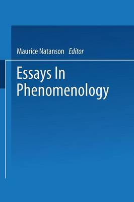 Essays in Phenomenology (Paperback)