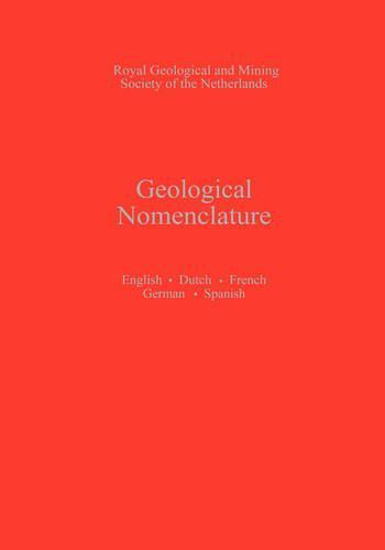 Geological Nomenclature (Hardback)