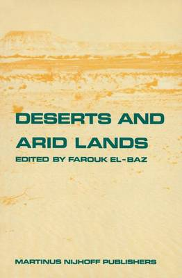 Deserts and arid lands - Remote Sensing of Earth Resources and Environment 1 (Hardback)