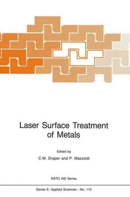 Laser Surface Treatment of Metals - NATO Science Series: E: Applied Sciences (Hardback)