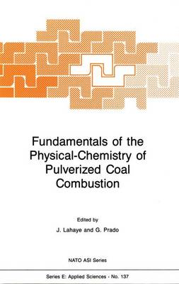 Fundamentals of the Physical-Chemistry of Pulverized Coal Combustion - Nato Science Series E: 137 (Hardback)