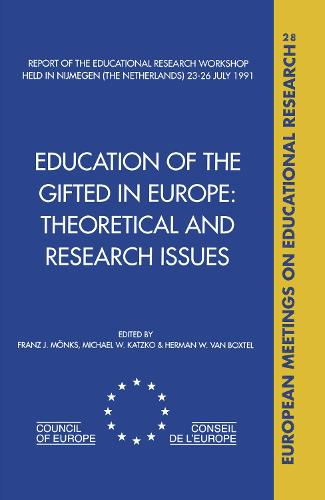 Education of the Gifted in Europe (Hardback)