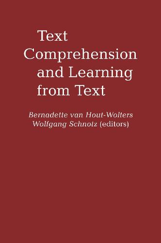 Text Comprehension And Learning (Hardback)