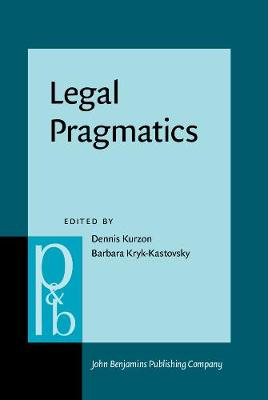 Legal Pragmatics - Pragmatics & Beyond New Series 288 (Hardback)