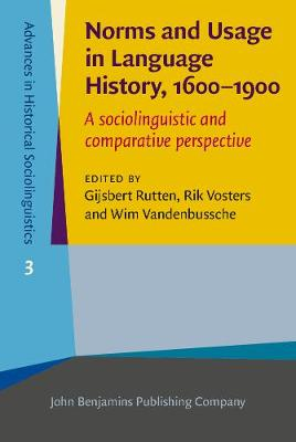 Norms and Usage in Language History, 1600-1900: A sociolinguistic and comparative perspective - Advances in Historical Sociolinguistics 3 (Hardback)