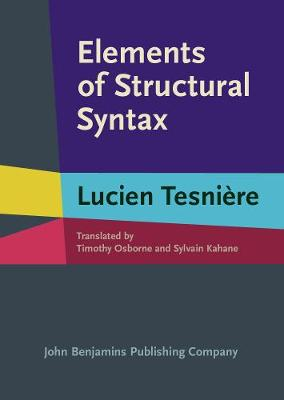 Elements of Structural Syntax (Hardback)