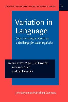 Variation in Language: Codeswitching in Czech as a Challenge for Sociolinguistics - Linguistic and Literary Studies in Eastern Europe 39 (Hardback)