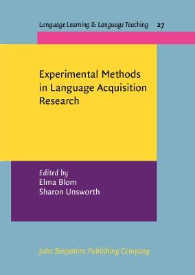 Experimental Methods in Language Acquisition Research - Language Learning & Language Teaching 27 (Hardback)