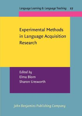 Experimental Methods in Language Acquisition Research - Language Learning & Language Teaching 27 (Paperback)