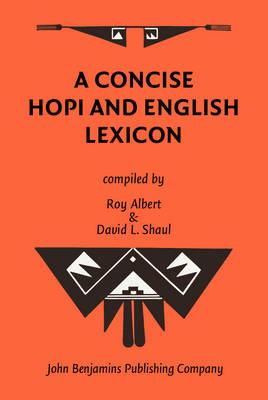 A Concise Hopi and English Lexicon (Hardback)