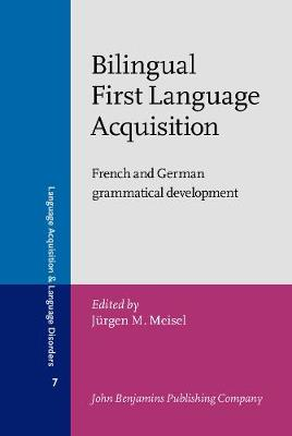 an analysis of the data on first language acquisition