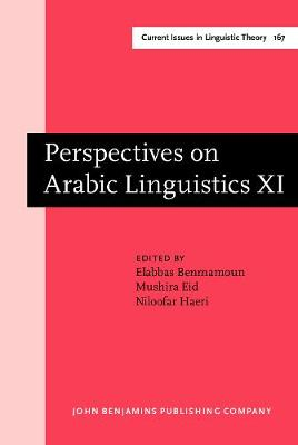 Perspectives on Arabic Linguistics: Papers from the Annual Symposium on Arabic Linguistics. Volume XI: Atlanta, Georgia, 1997 - Current Issues in Linguistic Theory 167 (Hardback)