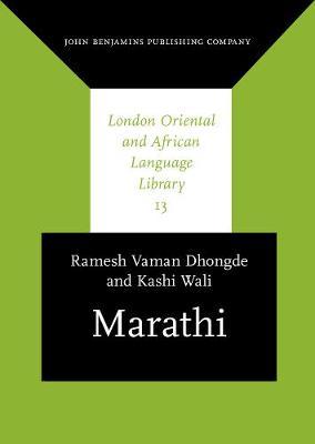 Marathi - London Oriental and African Language Library 13 (Hardback)