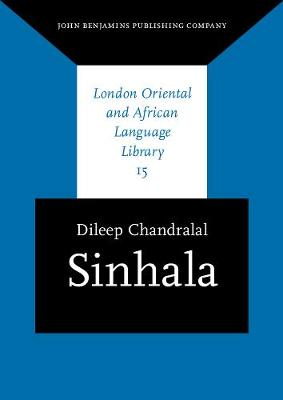 Sinhala - London Oriental and African Language Library 15 (Paperback)