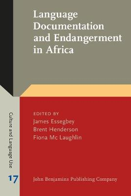 Language Documentation and Endangerment in Africa - Culture and Language Use 17 (Hardback)