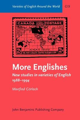 More Englishes: New Studies in Varieties of English, 1988-94 - Varieties of English Around the World v. 13. (Hardback)
