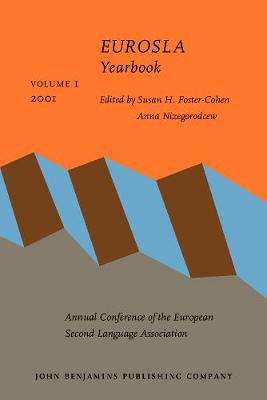 EUROSLA Yearbook: Volume 1 (2001) - EUROSLA Yearbook 1 (Paperback)