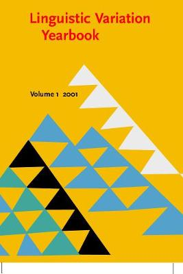 Linguistic Variation Yearbook 2001 - Linguistic Variation Yearbook 1 (Paperback)