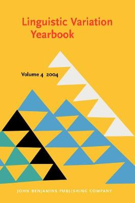 Linguistic Variation Yearbook 2004 - Linguistic Variation Yearbook 4 (Paperback)