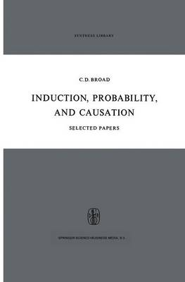 Induction, Probability, and Causation - Synthese Library 15 (Hardback)