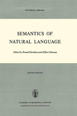 Semantics of Natural Language - Synthese Library 40 (Paperback)