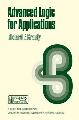 Advanced Logic for Applications - Synthese Library 110 (Paperback)