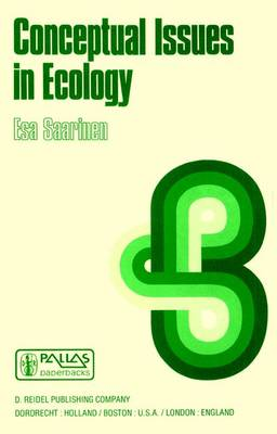Conceptual Issues in Ecology (Paperback)
