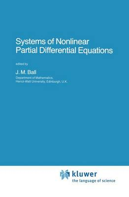 Systems of Nonlinear Partial Differential Equations - NATO Science Series C 111 (Hardback)