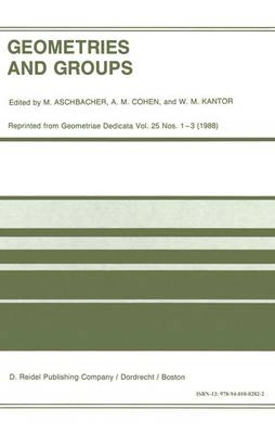 Geometries and Groups: Proceedings of the Workshop Geometries and Groups, Finite and Algebraic, Noorwijkerhout, Holland, March 1986 (Hardback)