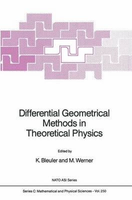 Differential Geometrical Methods in Theoretical Physics - NATO Science Series C 250 (Hardback)