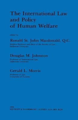 International Law and Policy of Human Welfare (Hardback)