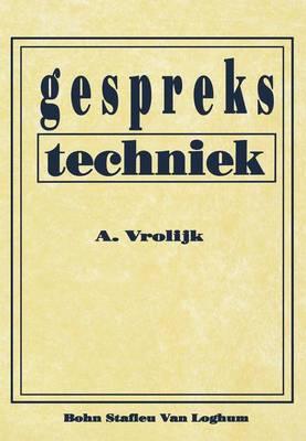 Gesprekstechniek (Paperback)