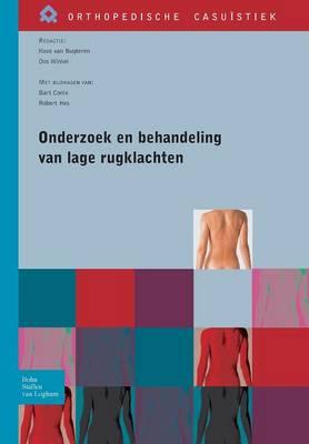 Onderzoek En Behandeling Van Lage Rugklachten (Paperback)