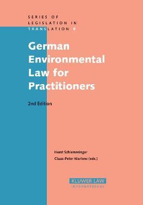 German Environmental Law for Practitioners (Hardback)