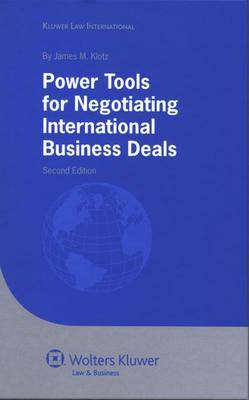 Power Tools for Negotiating International Business Deals (Hardback)