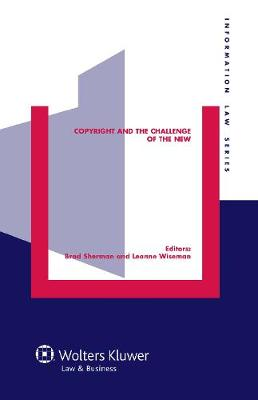 Copyright and the Challenge of the New (Hardback)