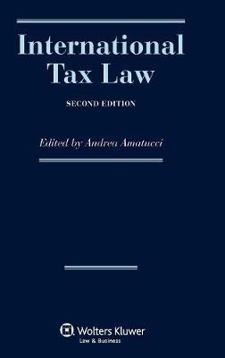International Tax Law (Hardback)