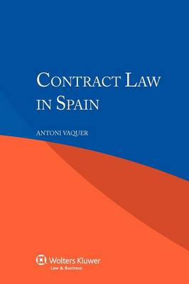 Contract Law in Spain (Paperback)