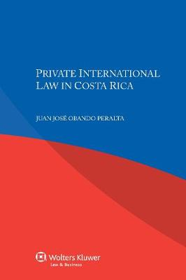 Private International Law in Costa Rica (Paperback)